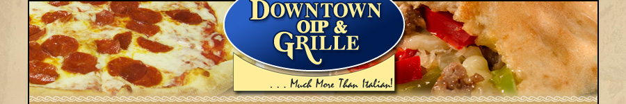 Downtown oip and grille lewistown menu